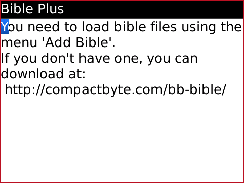 Bible Plus ADD File