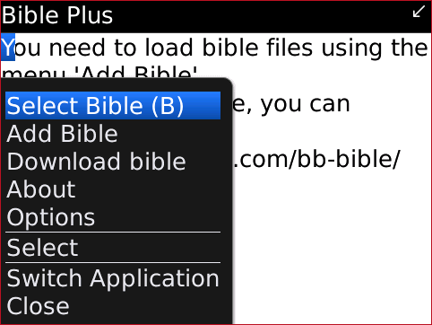 Bible Plus SELECT BIBLE1