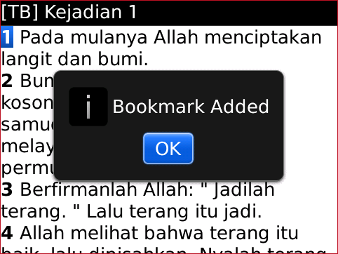 Bible Plus ADD BOOKMARK