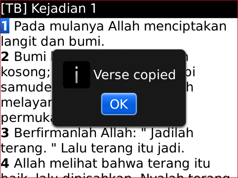Bible Plus COPY VERSE