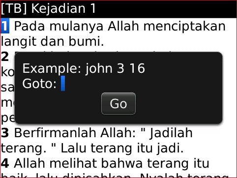 Bible Plus GO TO